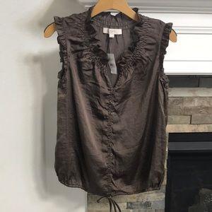 Women's LOFT Shirt Top Size Small
